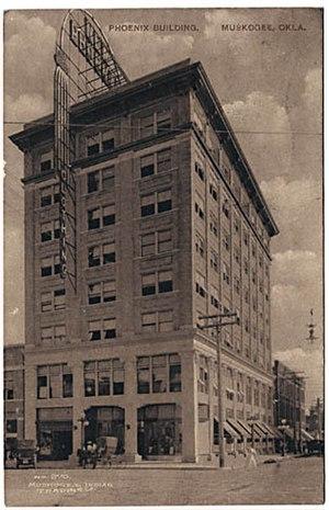 Manhattan Construction Company - Manhattan Building - Muskogee, Oklahoma