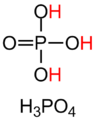 Phosphoric acid structure and formula.png