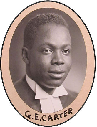 George Ethelbert Carter - Osgoode Hall Law School, graduation photo, 1948.