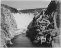 Photograph of the Boulder Dam from Across the Colorado River, 1941 - NARA - 519842.tif