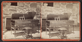 Piano belonging to General Clinton when in camp at Newberg (Newburgh), from Robert N. Dennis collection of stereoscopic views.png
