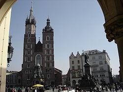 Piazza del Mercato di Cracovia.JPG