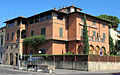 Piazza savonarola 15, villa rossa (syracuse university) 02.JPG