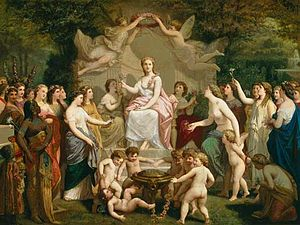 Henri-Pierre Picou - Picou's Allegory of Spring, painted in 1871, now housed at the Museo Nazionale del Bargello.
