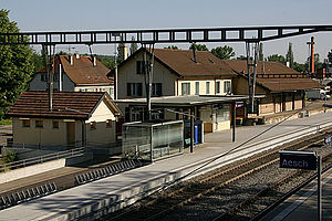 Aesch, Basel-Landschaft - Aesch train station