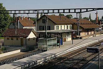 Aesch, Basel-Landschaft - Aesch train station