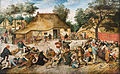Pieter Brueghel the Younger - The Peasant Wedding - Google Art Project.jpg