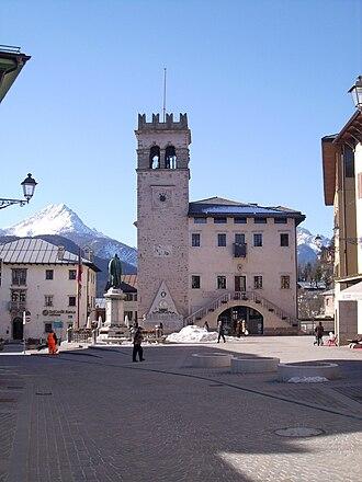 Pieve di Cadore - the Piazza