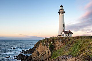 lighthouse in California, United States