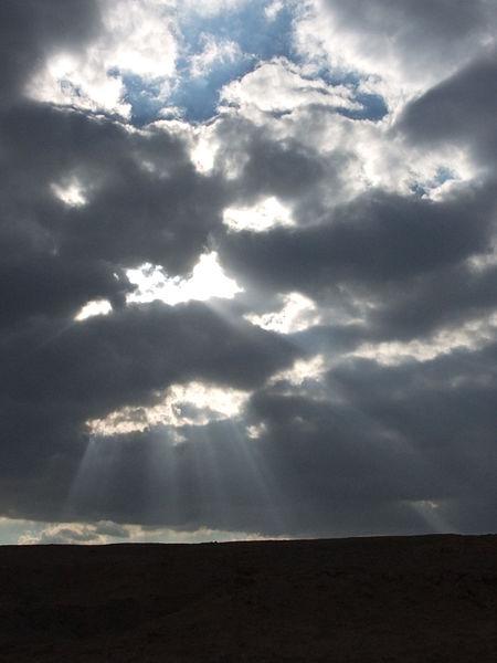 עננים ואור