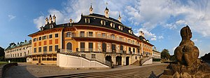 water palais in Pillnitz, Germany