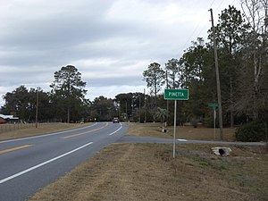 Madison County, Florida - Pinetta on State Road 145