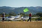 Pipistrel Taurus G4 taxiing at 2011 Green Flight Challenge