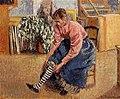 Pissarro - woman-putting-on-her-stockings-1895.jpg