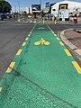 Piste cyclable Avenue Jean Jaurès Bobigny 1.jpg