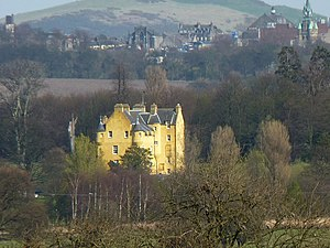 Sir Peter Halkett, 2nd Baronet - Pitfirrane House