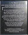 Plaque commemorating LTC Rolt - geograph.org.uk - 678374.jpg