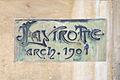 Plaque de limmeuble art nouveau de Jules Lavirotte à Paris, 2011.jpg