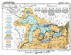 Plate 21 - Glacial Lake Algonquin and its Correlatives (USGS 1915).JPG