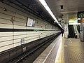 Platform of Shin-Nagata Station (Seishin-Yamate Line) 4.jpg