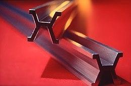 La barra di platino-iridio utilizzata come campione del metro dal 1889 al 1960