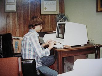 PLATO (computer system) - Using the CDC Plato network, circa 1979-1980, with an IST-II terminal