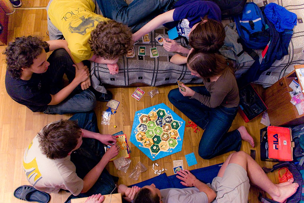 Playing Settlers of Catan