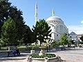 Plaza Scene with Ebu Bekr Mosque - Shkodra - Albania (42536185822).jpg