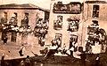 Plaza de Aldeadávila durante un encierro en 1940.JPG