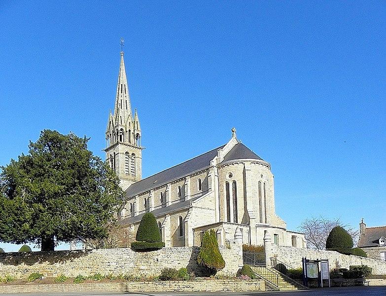 Église saint-Pierre de Plorec-sur-Arguenon (22).