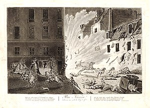 Plot of the rue Saint-Nicaise - The Plot of the Rue Saint-Nicaise, etching