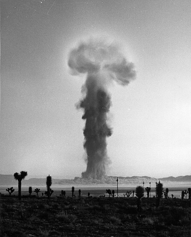 PLUMBBOB/NEWTON - September 16, 1957 - NEVADA ...