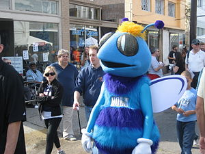 Charlotte Hornets - The original Hugo in New Orleans