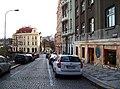Pod Nuselskými schody, od schodů k Bělehradské.jpg