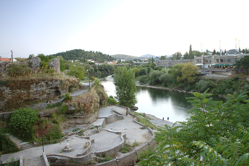 Historical centre of the town of Podgorica, capital of Montenegro