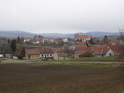 Skyline of Podbřežice