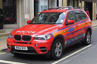 Protection Command - Protection Command response vehicles are uniquely painted red.