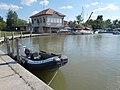 Police motorboat, Port of Agárd, 2017 Gárdony.jpg