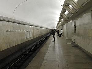Polyanka (Moscow Metro) - Station platform