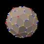 Polyhedron snub 12-20 left dual