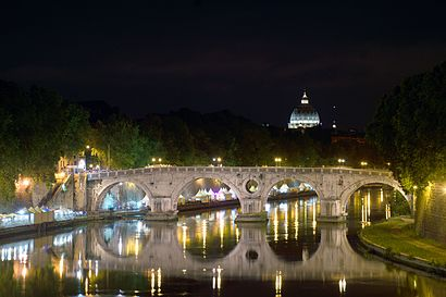 How to get to Ponte Sisto with public transit - About the place
