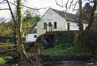 Gelligroes Mill Grade II* listed building in Caerphilly.