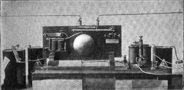 Грозоотметчик Попова (фото из издания 1907 года)