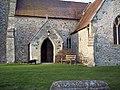 Porch, All Saints Church - geograph.org.uk - 332435.jpg