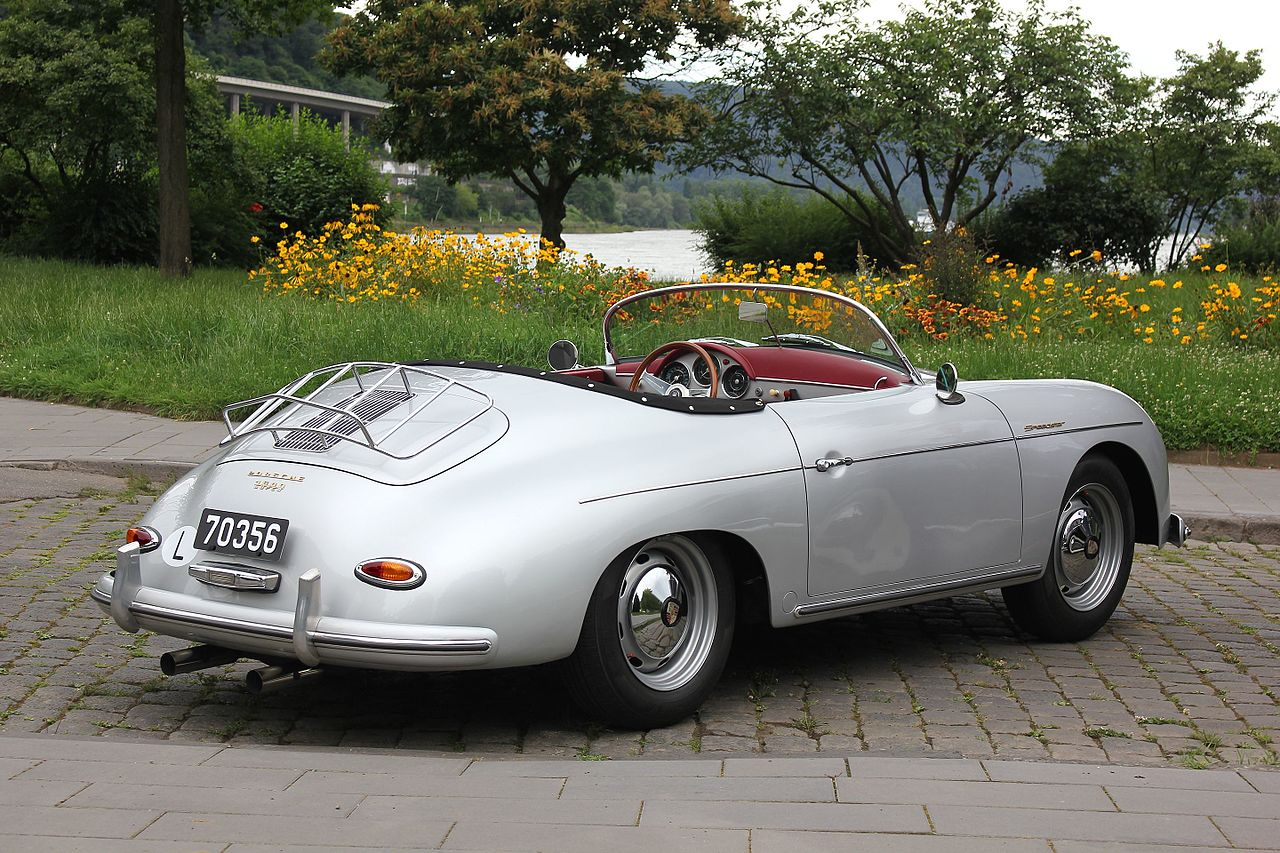 File Porsche 356 A Speedster 1600 Super Bj 1956 Heck