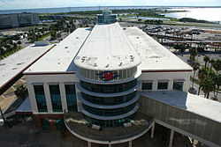 Port Canaveral Terminal 8 (Disney Cruise Terminal) - Ship Side.JPG