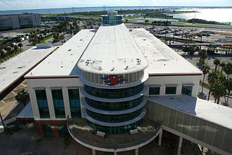 Disney Cruise Line - A photo of the Disney Cruise Line Terminal from the Disney Wonder.