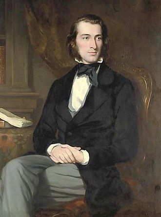 Matthew Piers Watt Boulton - Matthew Piers Watt Boulton portrait by Sir Francis Grant, c.1850.