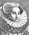 "Portrait from ""Variae comarum et bararum formae"", P. Galle Wellcome L0019789.jpg"