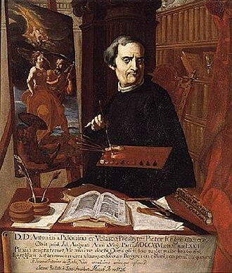 Antonio Palomino - Portrait of Antonio Palomino by Juan Baptista Simo